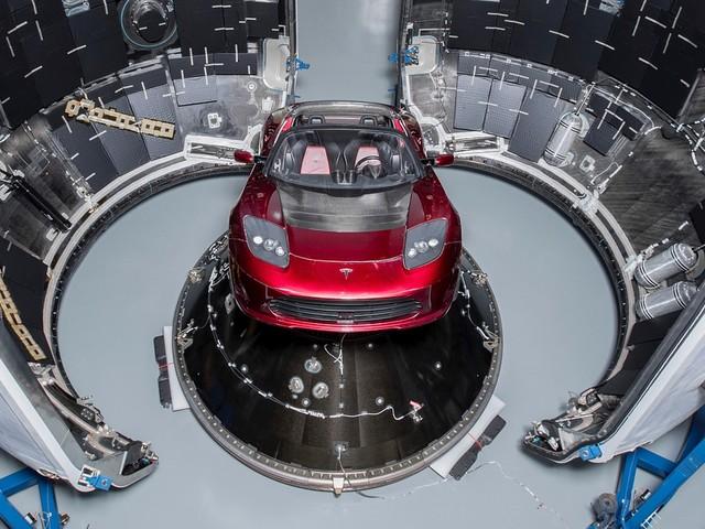 Elon Musk's Tesla Roadster Heads to Space Aboard Falcon Heavy on February 6th