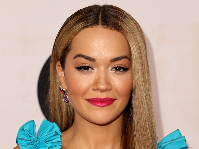 Rita Ora Wears Colorful Outfit While Hosting L.A. Art Show Opening Night Gala 2021
