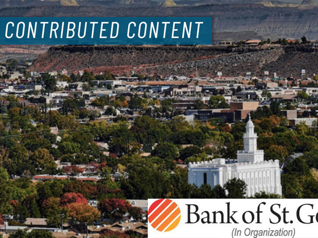 With plans to offer 'attentive, innovative service,' proposed Bank of St. George now seeking investors