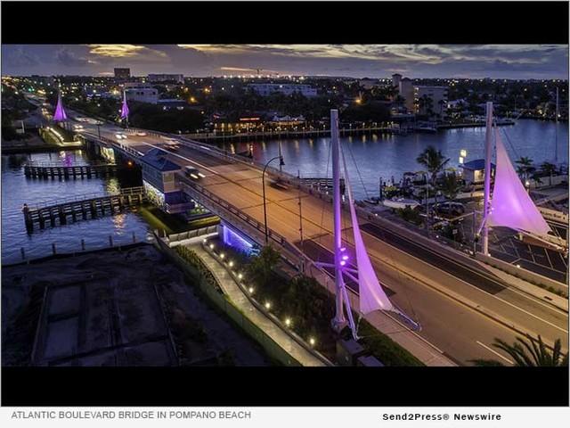 Pompano Beach CRA Wins FRA Award for Atlantic Blvd. Bridge Enhancement
