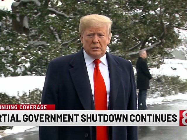 Trump rejects suggested short-term government shutdown fix