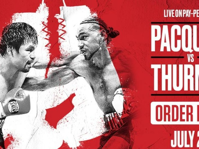 Keith Thurman vs Manny Pacquiao full fight card rundown