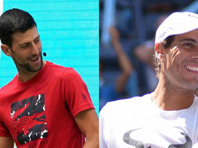 Novak Djokovic & Rafael Nadal Kick Off U.S. Open at Arthur Ashe Kids' Day!