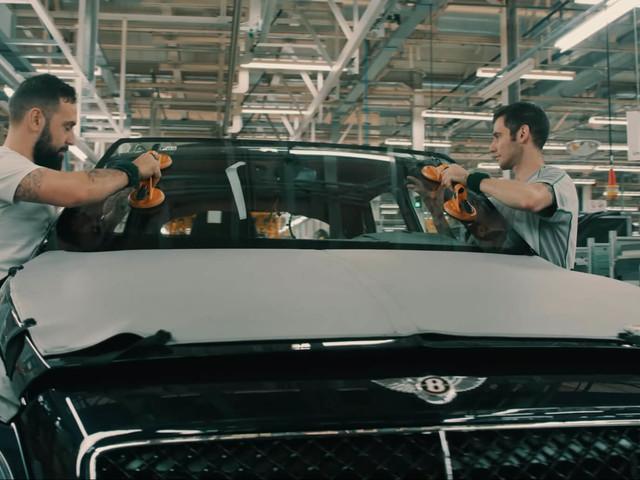 It Takes 16 Days To Build One Bentley Bentayga Speed