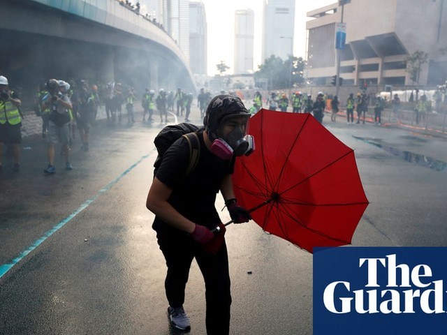 Hong Kong: the story of one protester – podcast