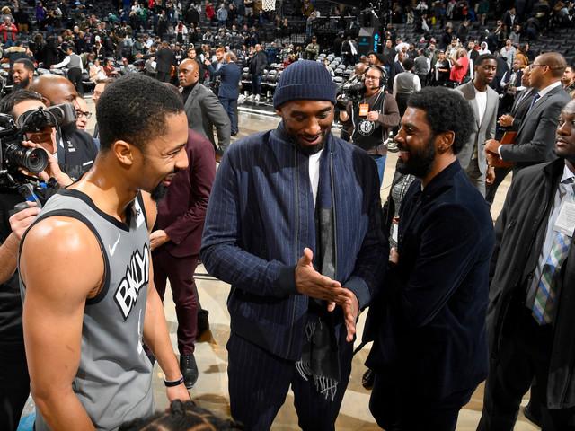 Nets' Spencer Dinwiddie honors Kobe Bryant with number change