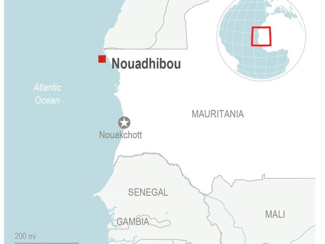 58 migrants dead after boat capsizes off Mauritania