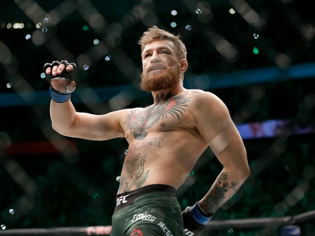 Conor McGregor says he was 'in the wrong' for punching older man at pub