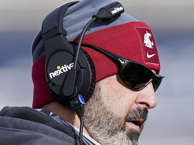 Questions about COVID-19 vaccine decision sure to come for WSU's Nick Rolovich at Pac-12 football media day