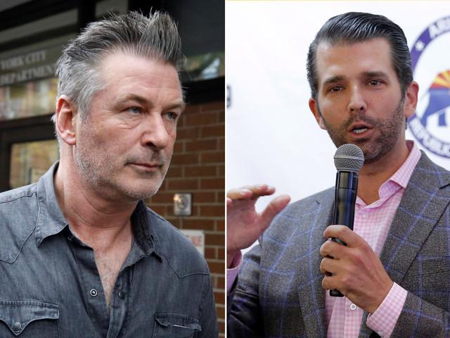 Trump Jr. calls Alec Baldwin 'garbage' in swipe over arrest