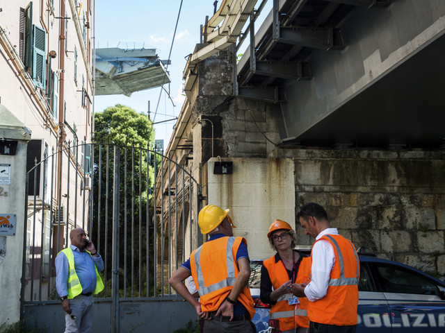 Italian party called bridge repairs 'waste of money' years before collapse