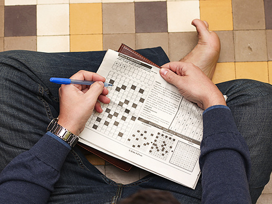 Crossword-loving puzzleheads have better brain function – even later in life