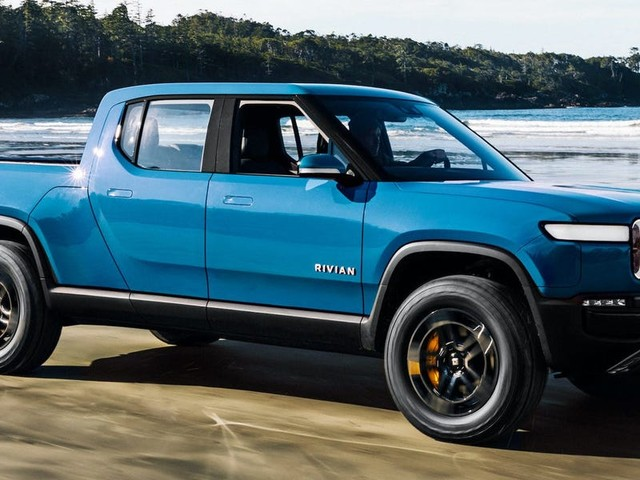 EV start-up Rivian has beaten other industry giants to become the first automaker to produce an electric pickup