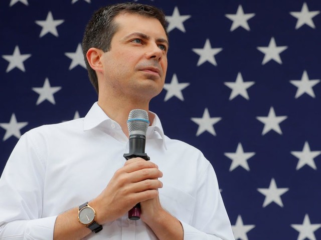 'It can be a lot more serious than bone spurs': Pete Buttigieg mocks Trump for comparing US troops' brain injuries to 'headaches'