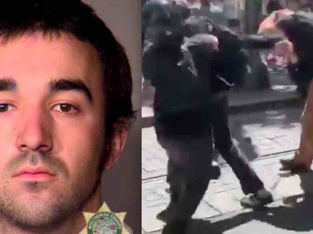 'Antifa militant' sentenced to nearly 6 years in prison for clobbering man in back of head with baton from behind