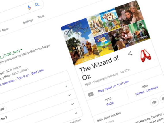 How to access Google's secret Wizard of Oz Easter egg