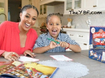 Pregnant Tia Mowry & Son Cree Send Off Christmas Lists To Santa + Natalie Nunn DRAGS American Airlines Employee For Talking Ish About Her Daughter