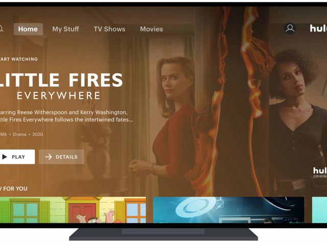 Hulu Unveils Revamped Interface, Coming First to Apple TV