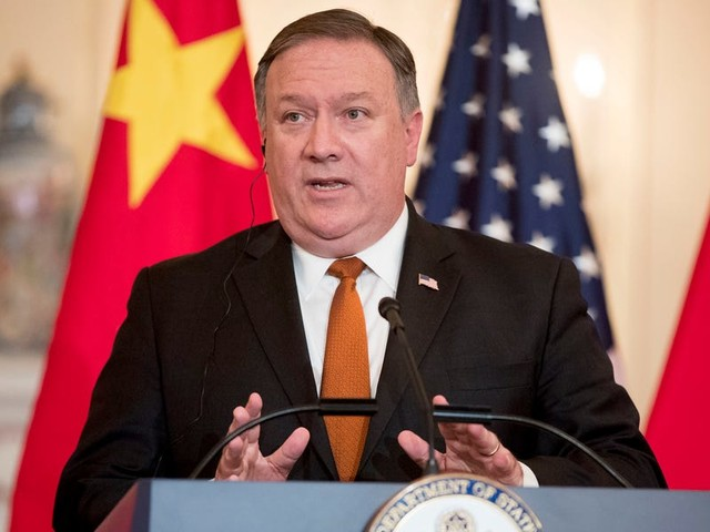 State Department denies report that Pompeo has been privately telling Republicans he's planning to resign