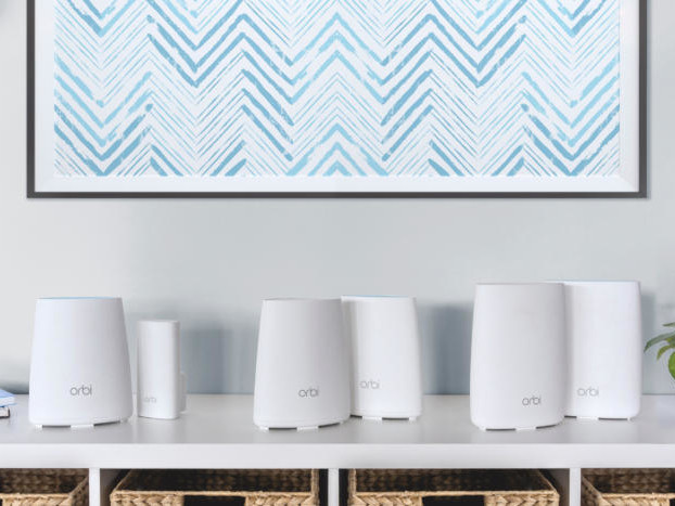 Netgear expands its Orbi Wi-Fi system into a product family, adding two less-expensive models