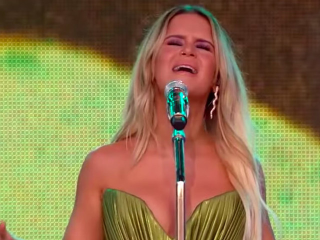 Maren Morris Performs On 'Kimmel'