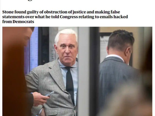 The Roger Stone–Wikileaks–Russia Hoax