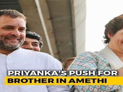 In Priyanka Gandhi's Latest UP Visit, A Push For Brother Rahul Gandhi