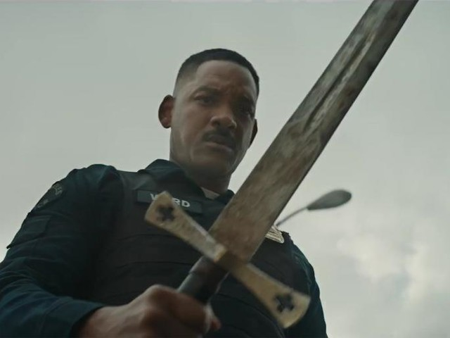 """The Trailer for Bright Asks: """"What If Will Smith Joined the LAPD and Also There Were Orcs?"""""""