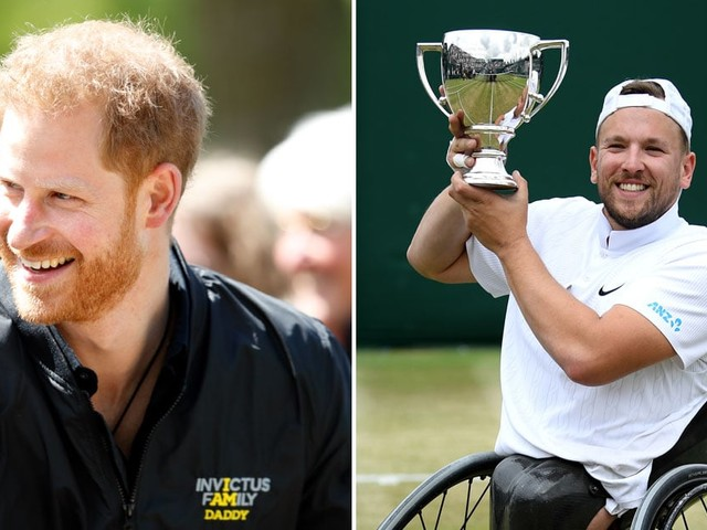 Prince Harry's Letter to a Wimbledon Champ Reveals Something Fun About His Swimwear Choice