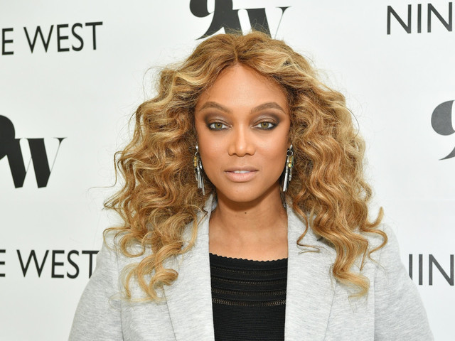 Tyra Banks addresses rumors she's engaged to Louis Bélanger-Martin