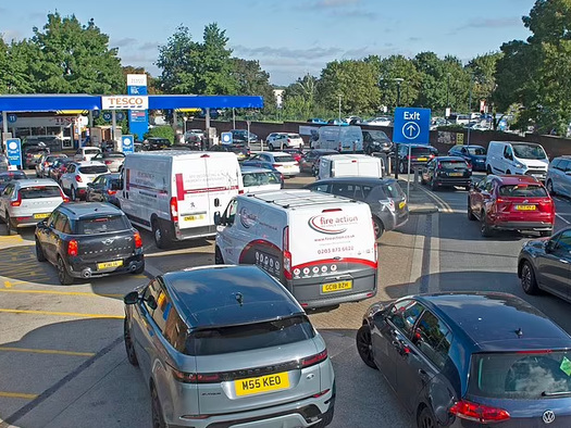 """Panic Hoarding Gasoline Begins As UK Plunges Towards """"Winter Of Discontent"""""""