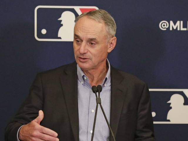 Rob Manfred hopes baseball can 'gear back up' in May