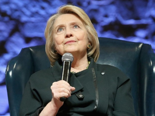 Hillary Clinton claims 'many, many, many people' are pressuring her to run for president again in 2020