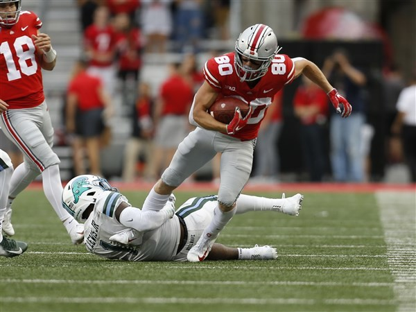 Ohio State football captain Saunders authors unlikely tale