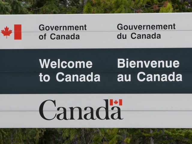 Canadians are flocking to US border cities to take advantage of a travel loophole — and it's creating lucrative opportunities on both sides of the closed border