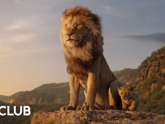How did Disney use its Animal Kingdom park to create the live-action Lion King?