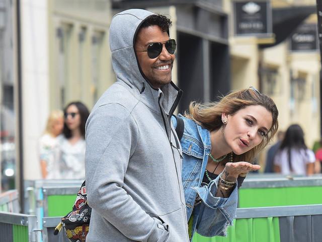 Paris Jackson & Cousin TJ Take a Stroll Around Paris Together