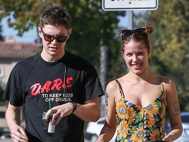 Halsey & Evan Peters Step Out After Pregnancy Rumors Swirl