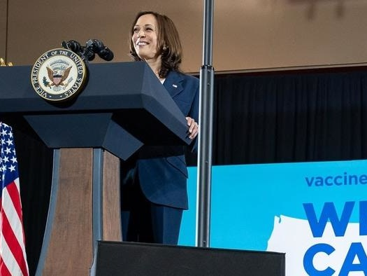 Kamala Harris Trains Activists To Pressure People Into Getting Vaccinated