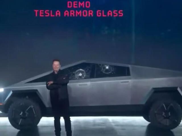 Elon Musk's Cybertruck mocked after ball busts windows during demonstration