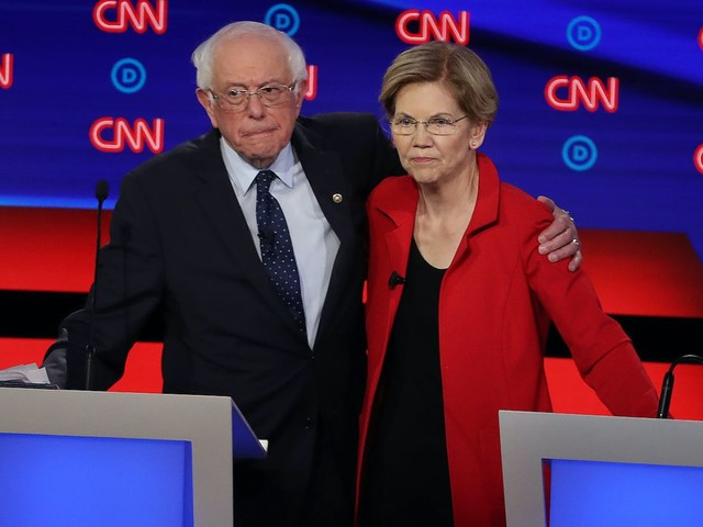 Elizabeth Warren calls out Bernie Sanders for 'sending his volunteers out to trash me'