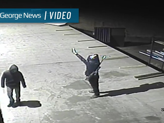 Authorities seek public's aid in identifying suspects who shot building in Centennial Park