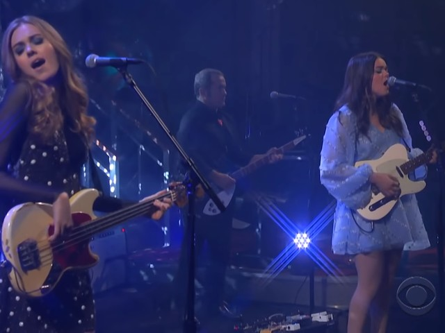 First Aid Kit Performs On 'The Late Show With Stephen Colbert'