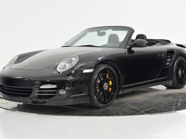 2012 Porsche 911--Turbo--S--Cabriolet