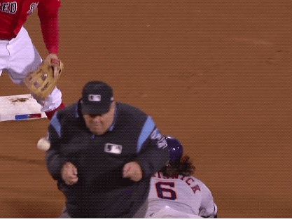 The 5 best things about Christian Vasquez hitting Joe West with a throw