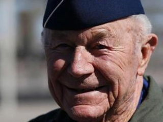 Pence remembers Chuck Yeager at W.Va. service