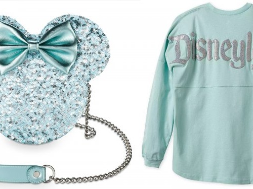 Disney has a new collection of aqua-colored merch, including 'Frozen' ears and spirit jerseys