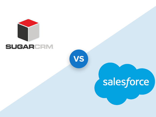 SugarCRM vs Salesforce: Price, Features & What's Best in 2019