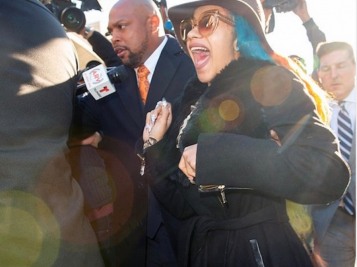 Cardi B.'s Response To Going To Court Over Stripclub Fight AND Getting 5 Grammys Nods On Same Day: 'Eeoowww!'
