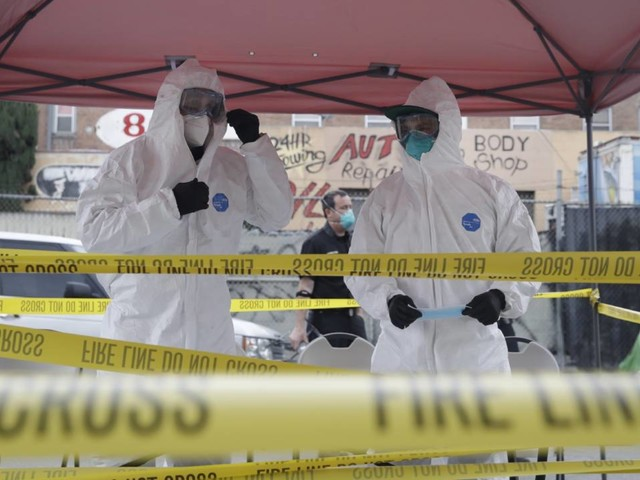 Live updates: Coronavirus response update from Los Angeles public health officials, President Trump